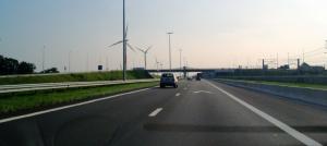 オランダの自動車道