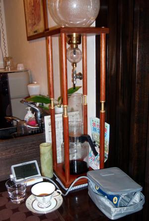 コーヒーの水出し器