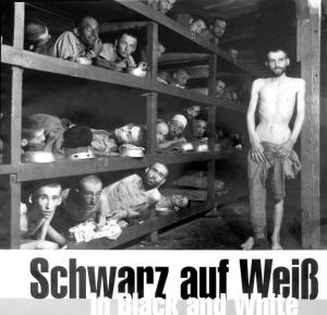 解放されたばかりのブッヘンヴァルトの「囚人」たち