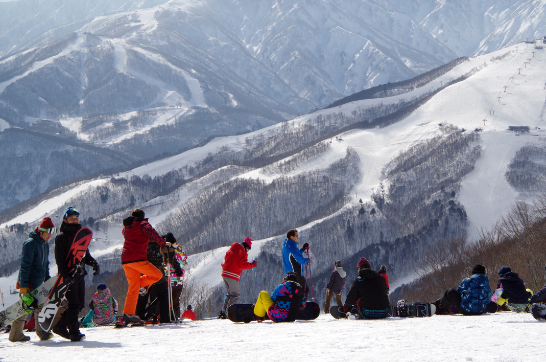 Iwatake skiarea, Hakuba, Nagano pref.