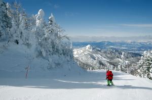 志賀高原横手山スキーエリア
