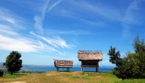 鳥取県のむきばんだ遺跡の復元住居